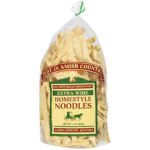 Das Dutchman Essenhaus: Extra Wide Homestyle Noodles, 1 lb