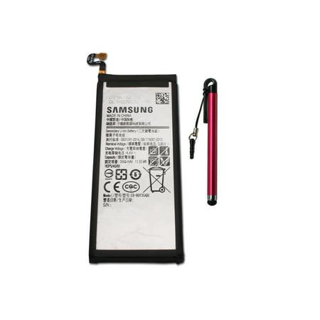Original Samsung Internal Battery EB-BG930ABA EB-BG930ABE For Samsung Galaxy S7 G930 3000mAh 100% OEM - with PNE Mini Stylus (Red) in Non Retail Pack