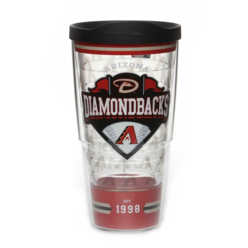 Arizona Diamondbacks Tervis 24oz. Classic Wrap Tumbler with Lid - No Size