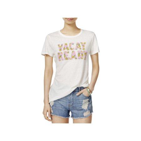 Junk Food Womens Printed Vacay Ready T-Shirt