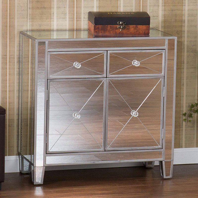 SEI Mirage Mirrored Cabinet