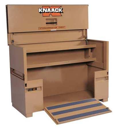 Knaack STORAGEMASTER Jobsite Piano Box, Steel, Tan, 91