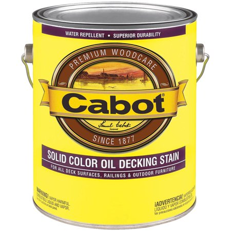 Cabot VOC Solid Color Oil Deck