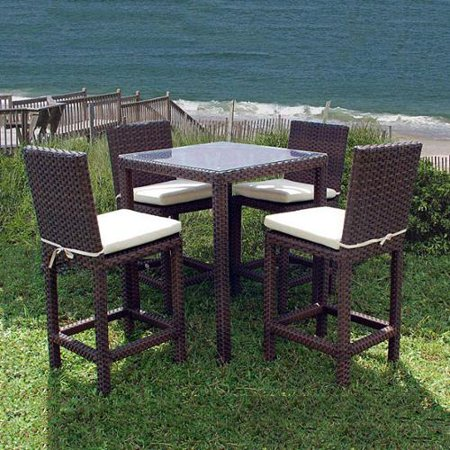 Atlantic Outdoor Olivia 5 Piece Bar Set