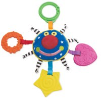 Manhattan Toy Whoozit Orbit Teether and Travel Toy