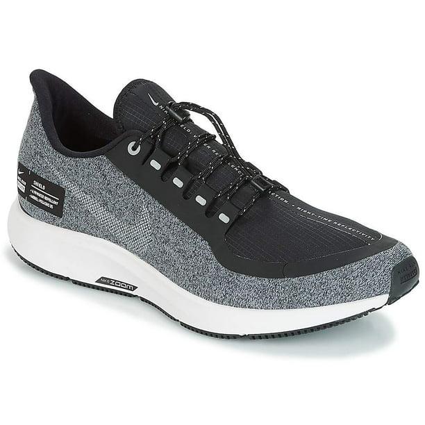 Nike Air Zoom Pegasus 35 Shield Men's Running Shoe Black/Grey (US 9)