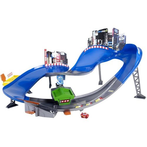 Disney/Pixar Cars Micro Drifters Super Speedway Playset