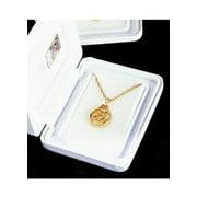 Beverly Clark 23D Gold Filigree Family Medallion