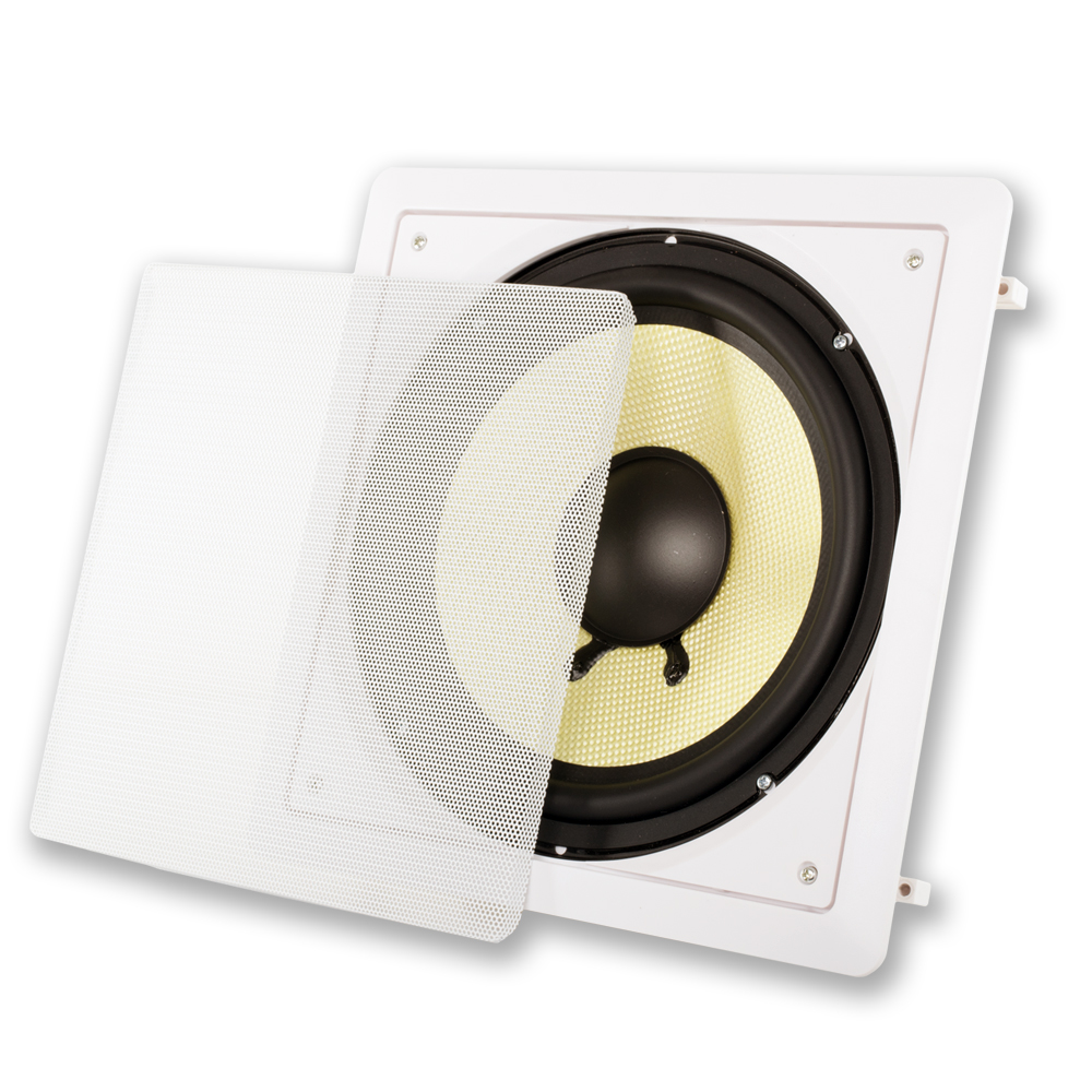 """Acoustic Audio HDS-10 10"""" In-Wall Subwoofer"""