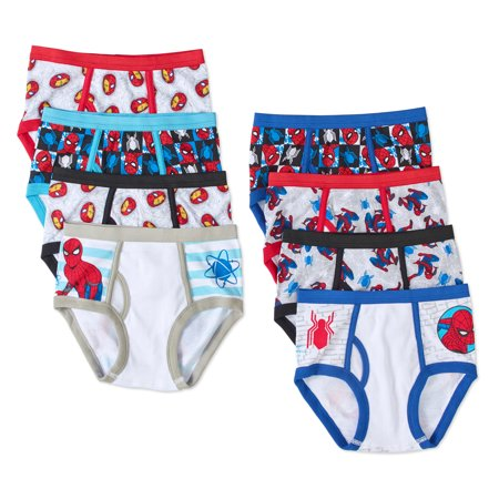 Spiderman Boys Cotton Briefs  5 Pack   3 Free Bonus Pairs
