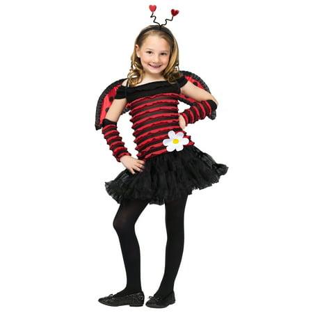 Lady Bug Costume Children's 8-10 (Ladybugs Costume)