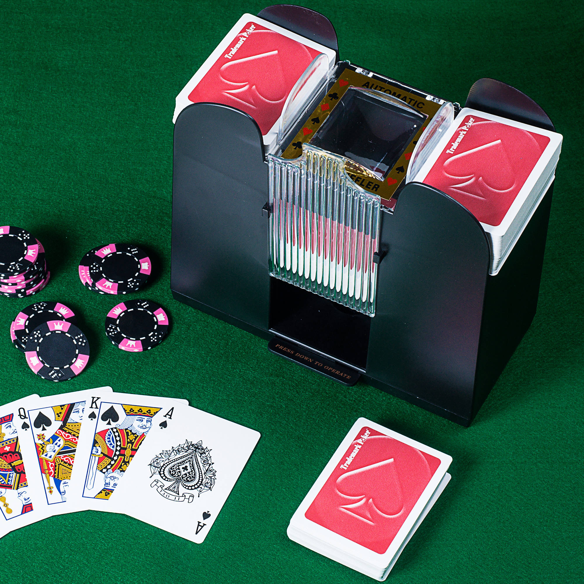 Card Shuffler, 6 Deck Automatic by Hey! Play!