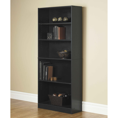 "Orion 71"" Wide 5-Shelf Standard Bookcase, Oak"