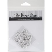 """Two Paper Divas Clear Stamps 6""""X4.5""""-Lollipops"""