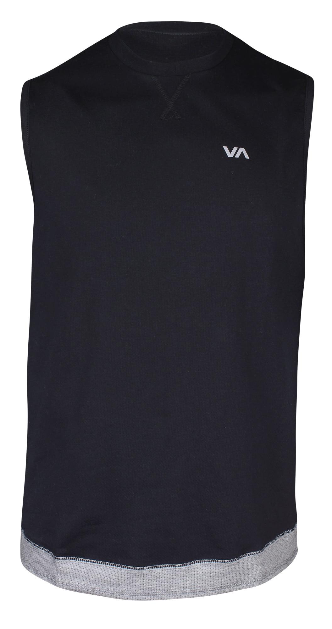 Blue mma surf skate RVCA Mens VA Sport Flipped Box T-Shirt