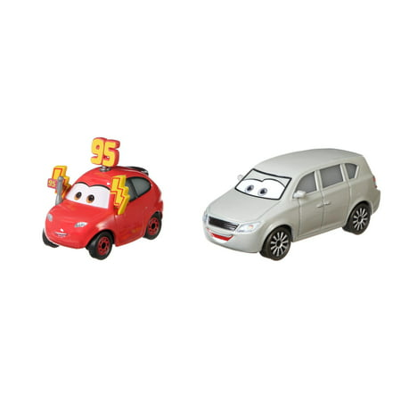 Disney Pixar Cars Maddy McGear & Melissa Bernabrake 2-Pack Vehicle Set