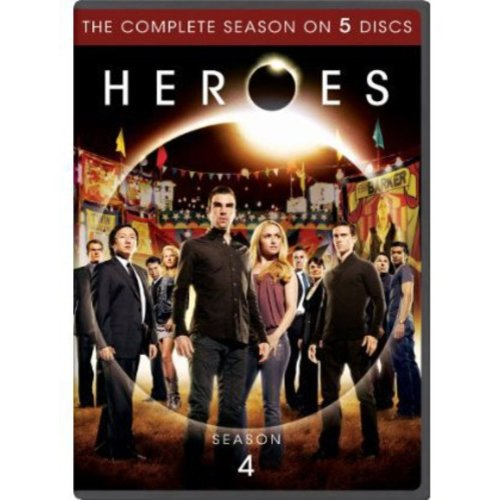 Heroes: Season Four (Anamorphic Widescreen)
