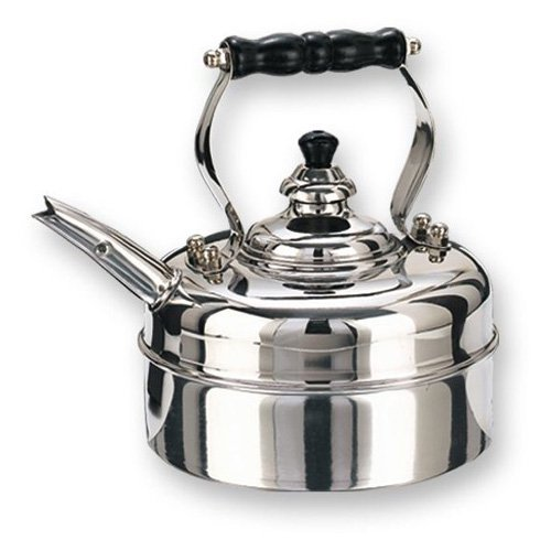 Old Dutch 3 qt. Stainless Steel Windsor Whistling Tea Kettle
