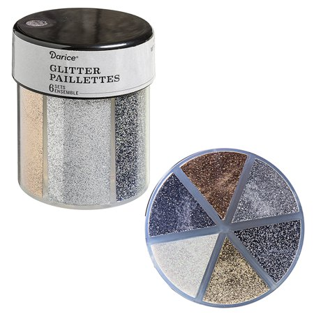 6-Color Glitter Caddy: Metallics ()