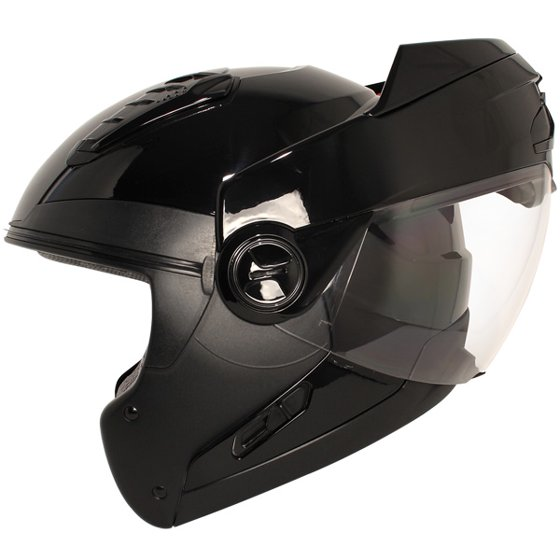 7f2cf55e Hawk ST-1198 Transition 2-in-1 Gloss Black Modular Helmet with Hawk COM-2  Bluet - Walmart.com