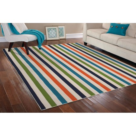 Garland Rug Summer Stripe Area Rug