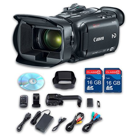 Canon XA30 HD Professional Camcorder + 2 PC 16 GB Memory Cards + All Manufacturer Accessories - International Version Gigabyte Pc Card Memory