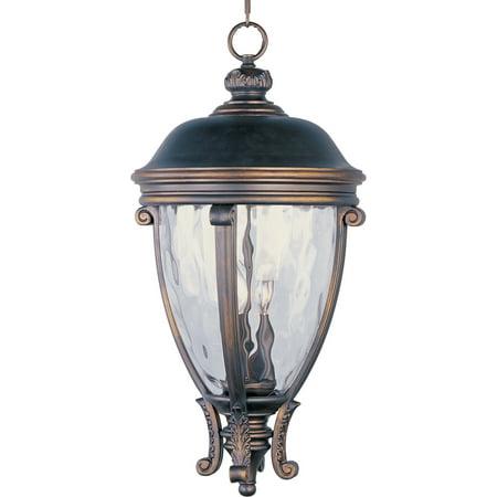 - Maxim Lighting 41429WGGO Camden VX Outdoor Hanging Light, Golden Bronze
