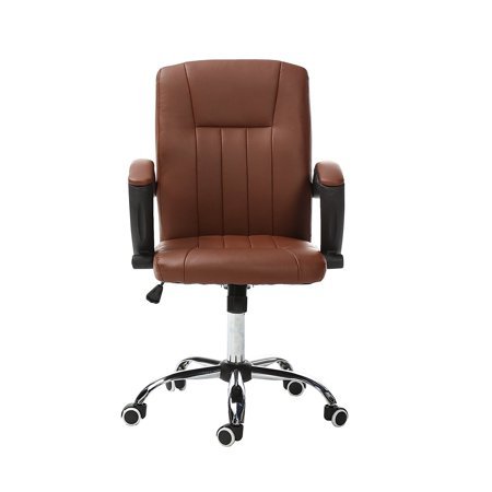 Magshion Comfortable Executive Office Chair Task Home Computer Desk Chairs Brown