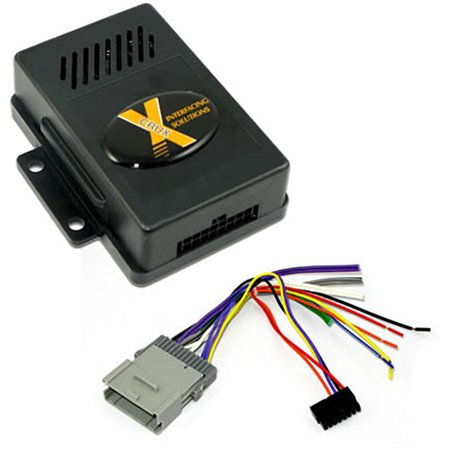 Crux SOCGM17 Radio Replacement Interface W/chime For Gm Class Ii