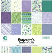 """Colorbok 12"""" Homemade Designer Paper, 50 Piece"""