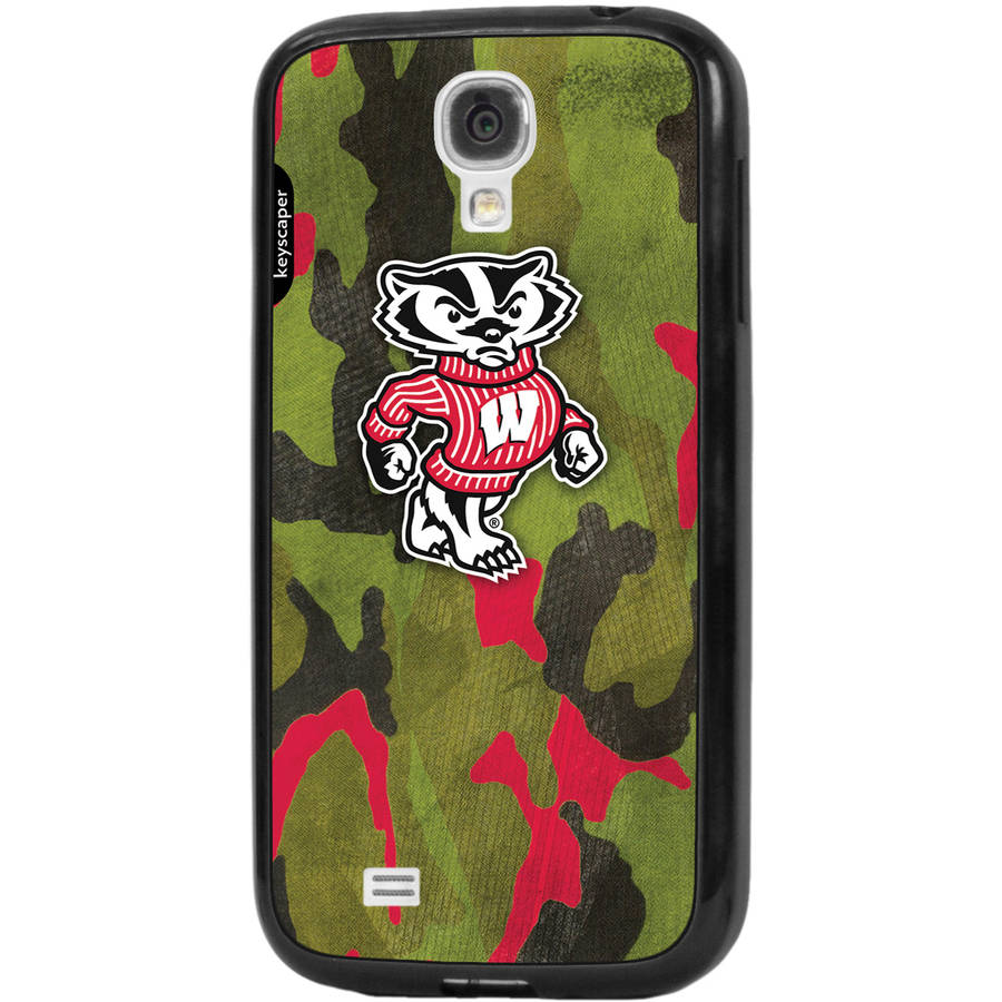 Wisconsin Badgers Galaxy S4 Bumper Case