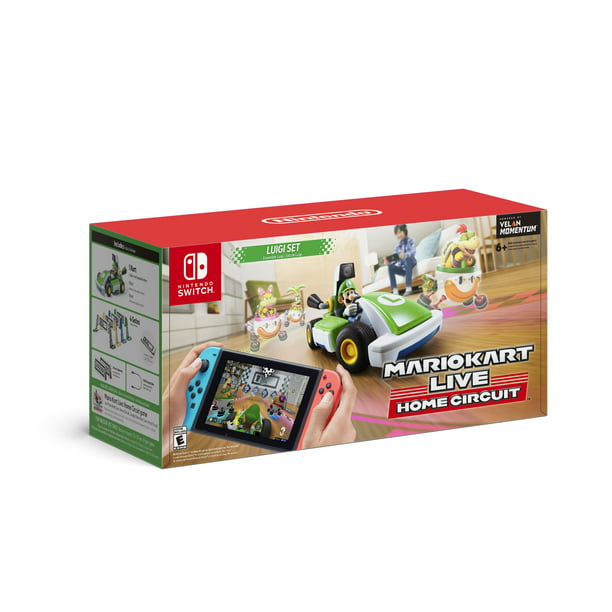 Mario Kart Live: Home Circuit™ - Luigi™ Set, Nintendo, Nintendo Switch 00045496882846