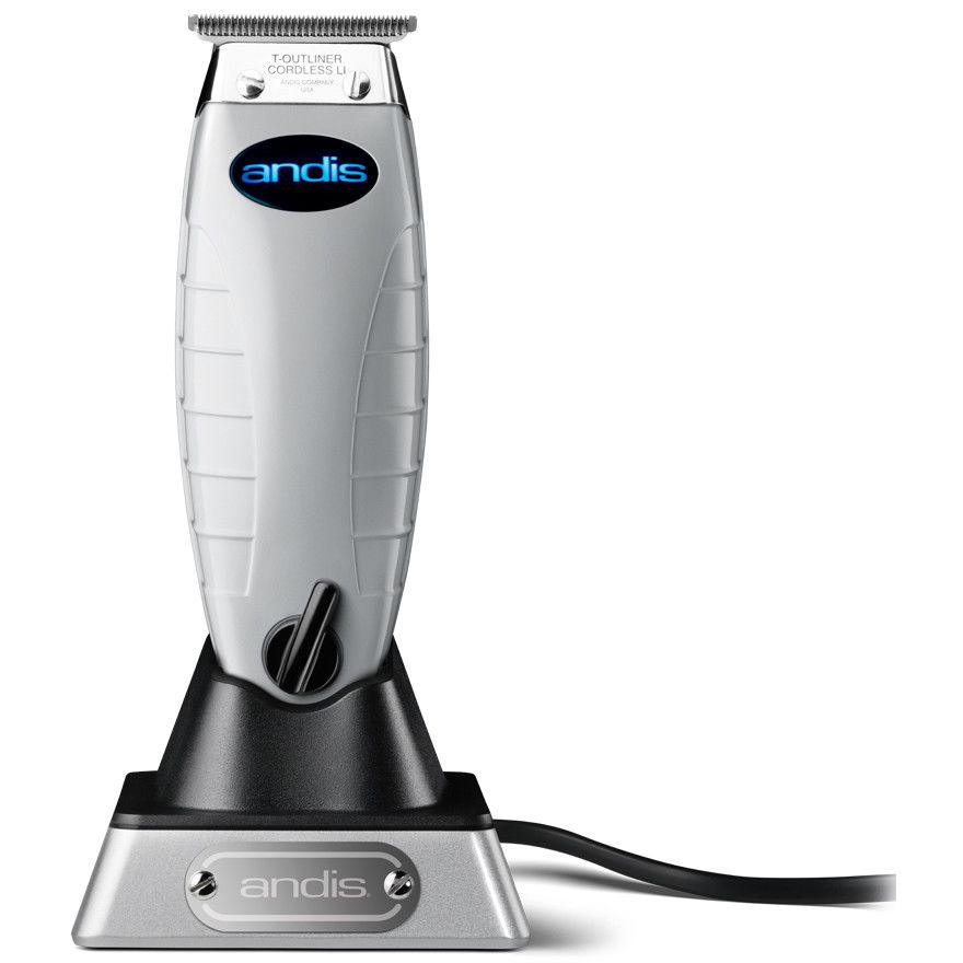 Andis Professional Cord / Cordless T-Outliner Li Trimmer 74000 Hair Cut Barber