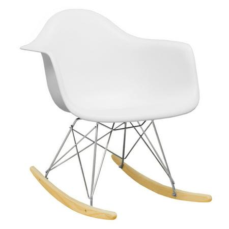 Paris Tower Rocker Lounge Chair (White) (Lounging Tower)
