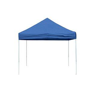 Open Top Pro Pop-up Canopy 10 X 10 Ft (Blue) With Full Valance