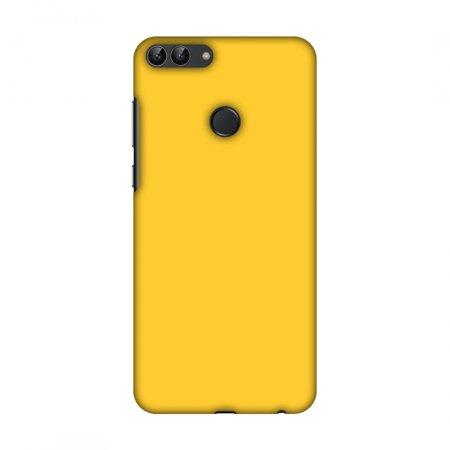 sale retailer 108c5 d05e1 Huawei Enjoy 7S Case, Huawei P Smart Case - Bumblebee Yellow,Hard Plastic  Back