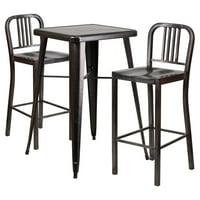 Flash Furniture Mason 3 Piece Pub Table Set