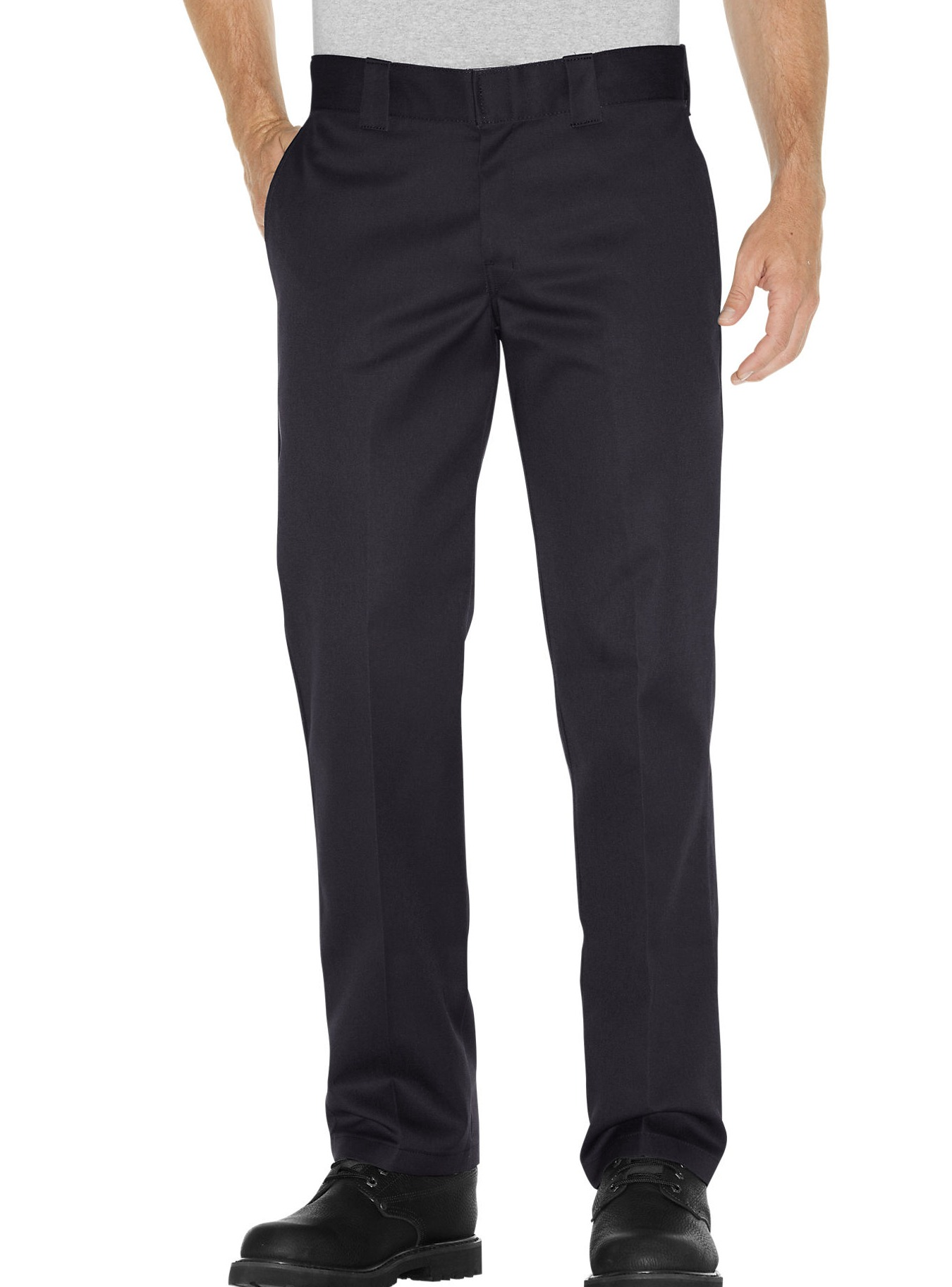 Dickies NEW Deep Black Men's Size 34x32 Button-Front Casual Pants