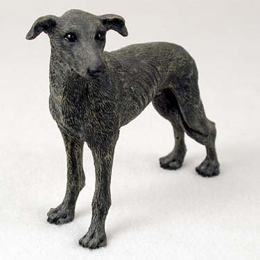 Greyhound Dog Figurine - Brindle