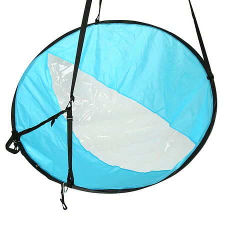 Canoe Sail,Kayak Accessories,Zerone 3 Colors 108cm Foldable Kayak Wind Paddle Board Sail With Clear Window and Storage Bag