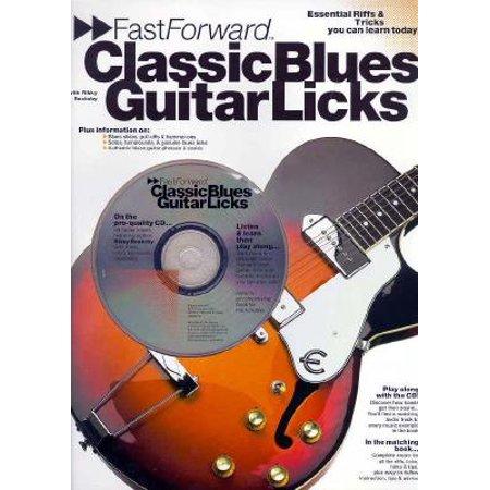 Classic Blues Guitar Tabs (Fast Forward - Classic Blues Guitar Licks)
