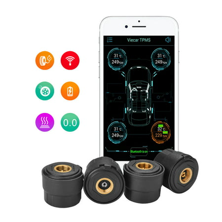 Fixm Smart Bluetooth Tire Pressure Monitoring System Tpms