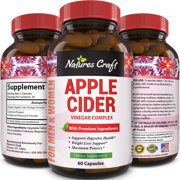 Best Detox Pills - Natures Craft Apple Cider Vinegar Pills for Weight Review