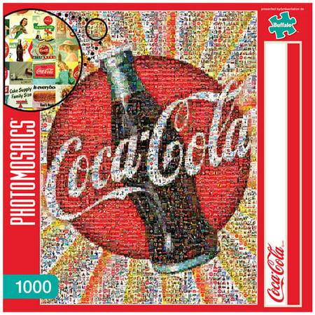 Photomosaics Jigsaw Puzzle: Coca-Cola, 1000 (Coca Cola Jigsaw Puzzle)
