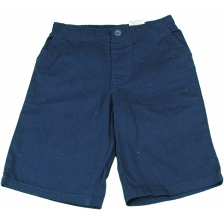Kids Headquarters Boys Size 6 Pull-On Elastic Waistband Four-Pocket Shorts, (Four Star Orly Cord Shorts)