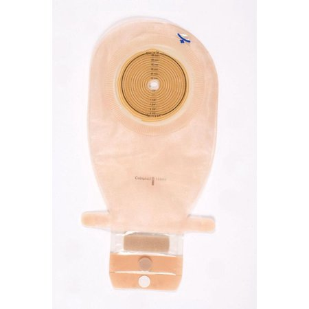 Assura One-Piece Drainable Wide Outlet Ostomy Pouch 14512 Large Box of 10, Transparent ()