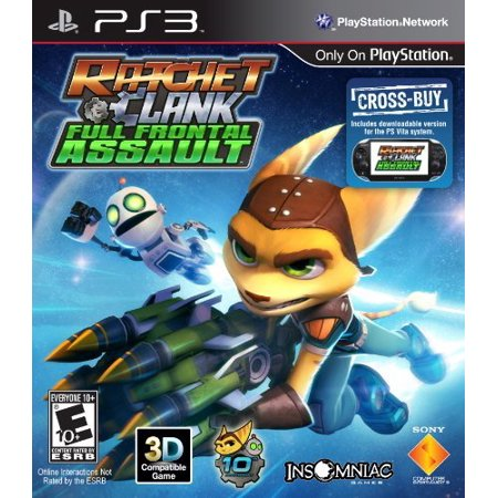 Sony Ratchet & Clank Full Frontal Assault (PS3) (Best Ratchet And Clank Game Ps3)