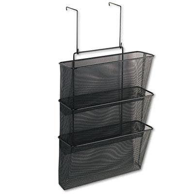 Fellowes Mesh Partition Additions Triple File (Fellowes Plastic Partition Additions Nameplate)