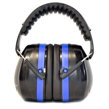 G & F 34dB Highest NRR Safety Earmuffs - Professional Ear Defenders for Shooting, Adjustable Headband Ear Protection / Shooting Hearing Protector Earmuffs Fits Adults to Kids, (Attenuating Noise Blocking Earmuffs)