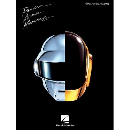 Hal Leonard Daft Punk - Random Access Memories for Piano/Vocal/Guitar - Daft Punk Halloween